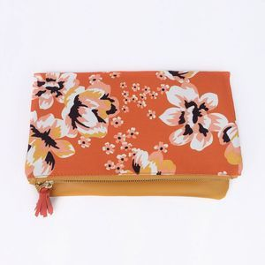 Rachel Pally Reversible Vegan Leather Clutch